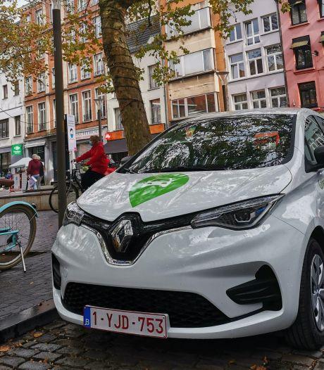 La société de voitures partagées électriques GreenMobility arrive à Bruxelles