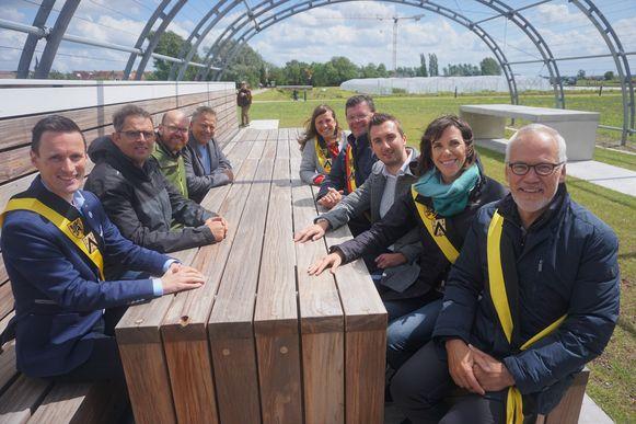Het schepencollege heeft de Tuinen van Stene officieel geopend, al staan er nog tal van projecten op stapel.