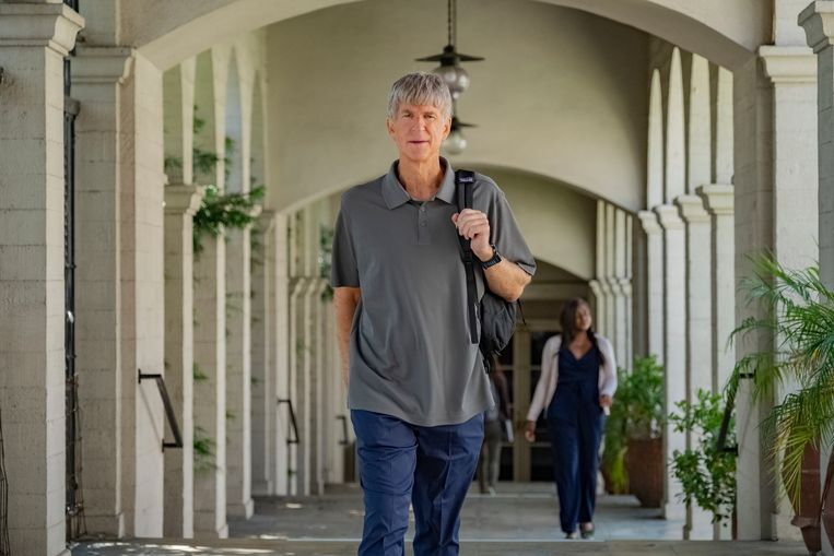 Matthew Modine als 'Rick' Singer in 'Operation Varsity Blues: The College Admissions Scandal'. Beeld AP