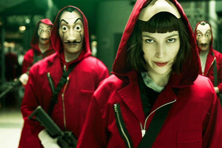 Het tweede seizoen van 'La casa de papel' is nu uit op Netflix. Beeld