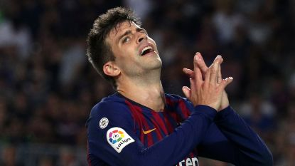 FC Barcelona is maximum kwijt na twijfelachtig rood en draw in Catalaanse derby tegen Girona (2-2)