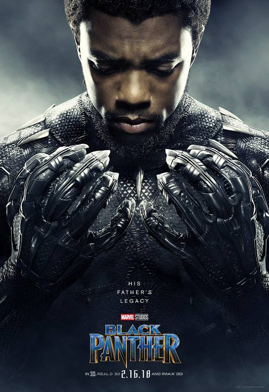 Chadwick Boseman vertolkt de hoofdrol.