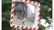 Geen spiegels op kruispunt Roste Muis