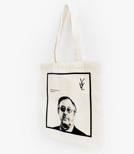 Vous n'en rêviez pas, mais le voici: le tote bag Yves Van Laethem