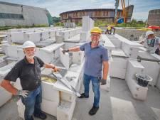 Opnieuw zet ecodorp Boekel, proeftuin voor duurzaamheid, een stap: staalslakken zorgen voor warmte