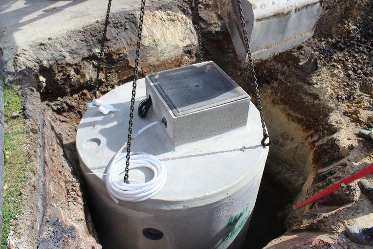 Bij een nieuwbouwproject moet je een regenwaterput installeren van 5.000 tot 10.000 liter groot zijn, afhankelijk van de oppervlakte van je dak. Beeld Reni