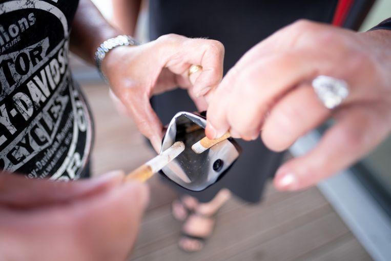 Ivarem lanceert de Assefoetsie, een etui om opgerookte sigaretten in te bewaren. Beeld David Legreve