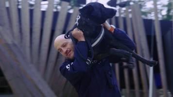 Inspecteur Olivier over hechte band met zijn politiehond
