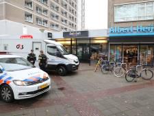 Overval op geldloper bij Albert Heijn in De Stede
