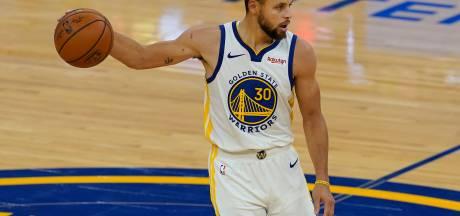 Warriors ondanks 'offday' Curry nipt langs Raptors in NBA
