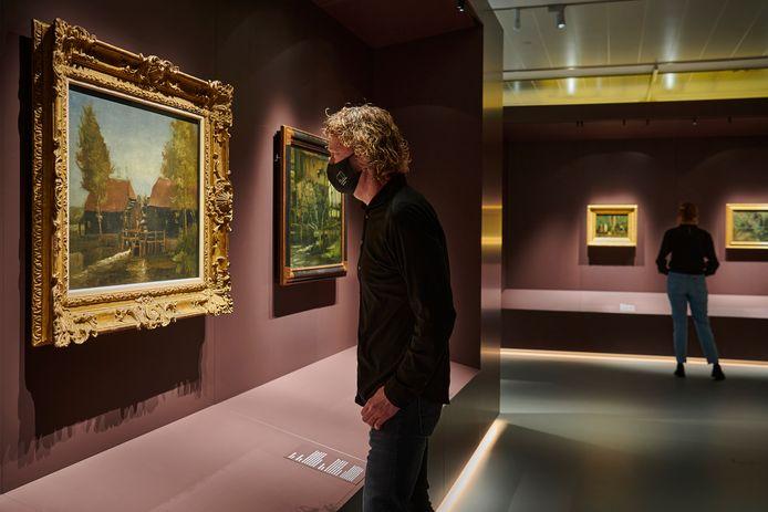 Beeld van de permanente presentatie van Vincent van Gogh in het Noordbrabants Museum in Den Bosch.