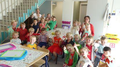 Terug naar school: kindjes uit Grammene en Gottem voor het eerst samen naar De Kerselaar