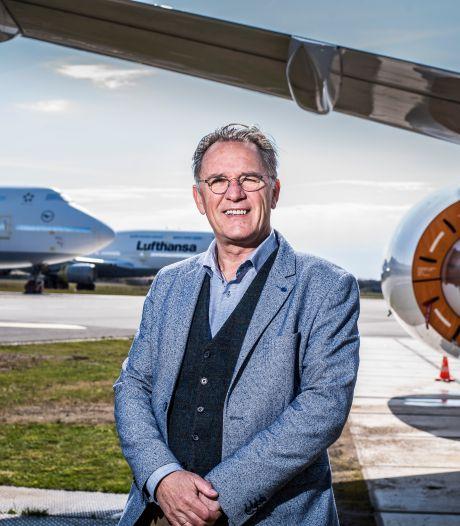 Jan Schuring geeft verlieslijdend Twente Airport niet op: 'Ik ben optimistisch'