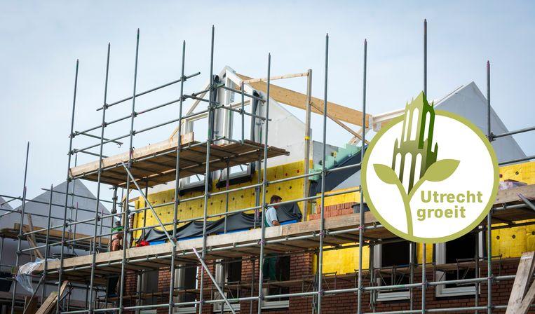 Nieuwbouw in Utrecht. Het CDA wil dat een nieuw kabinet 1 miljard steekt in het stimuleren van woningbouw. Beeld ANP XTRA