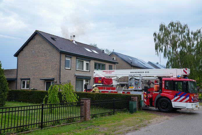 De brandweer kreeg de brand al snel onder controle.