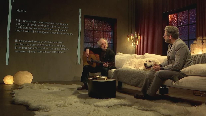 Jan De Wilde, Swami Bami en Wim Helsen Beeld VRT