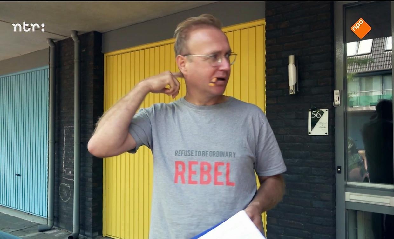 Programmamaker Albert Klein Haneveld ging op zoek naar de meest gemiddelde Nederlander. Beeld