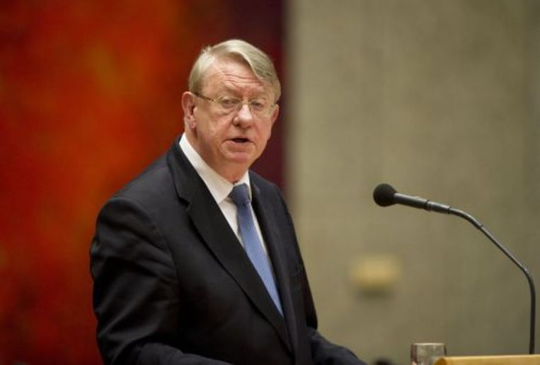 Minister Hans Hillen. ANP Beeld