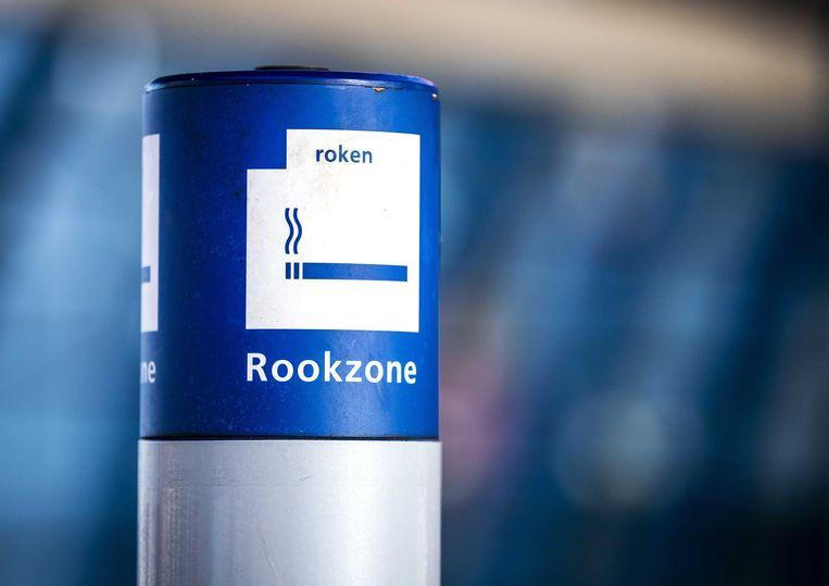2020 was ook het jaar waarin de rookpaal van stations verdween.  Beeld ANP
