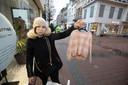 Romina Manzone (39) trok dinsdagochtend naar Hasselt om kleren te kopen voor haar dochter die de laatste maanden erg is gegroeid.