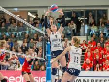Vijfde landstitel voor volleybalsters van Sliedrecht Sport