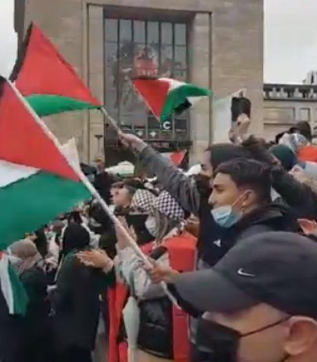 """Un slogan antisémite scandé lors de la manifestation pro-palestienne à Bruxelles: """"Un appel au meurtre des juifs"""""""