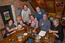 De jury van Brabants Lekkers Bier 2018 (vlnr) Judy van Vroonhoven (Oirschot), voorzitter Zjef Naaijkens (Berkel-Enschot), René van den Berk (Veldhoven), Hans Mertens (Breda), Paul van den Dungen (Valkenswaard), Noud Bex (Budel) en Pia Slegers (Milheeze).