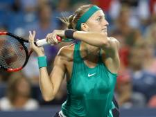 Kvitova schakelt Williams uit in Cincinnati