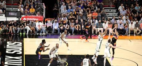 Antetokounmpo op dreef bij Bucks, maar Suns winnen ook tweede duel in NBA-finale