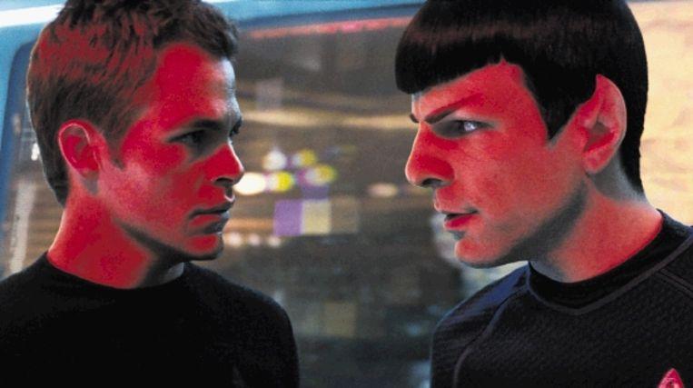 De casting in 'Star Trek: The Future Begins' is uitstekend verzorgd. (Trouw) Beeld Industrial Light & Magic