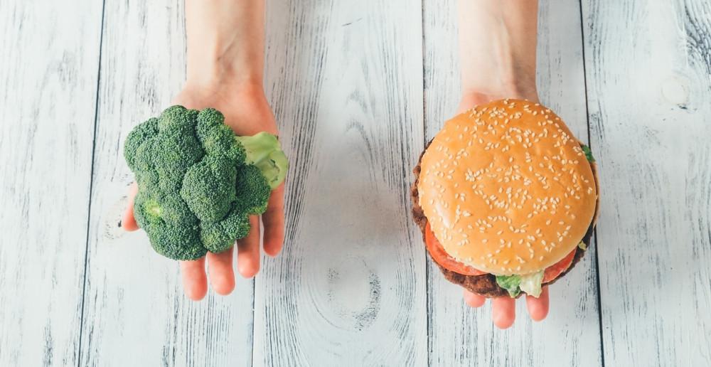We kiezen vaak voor ongezond in plaats van gezond.