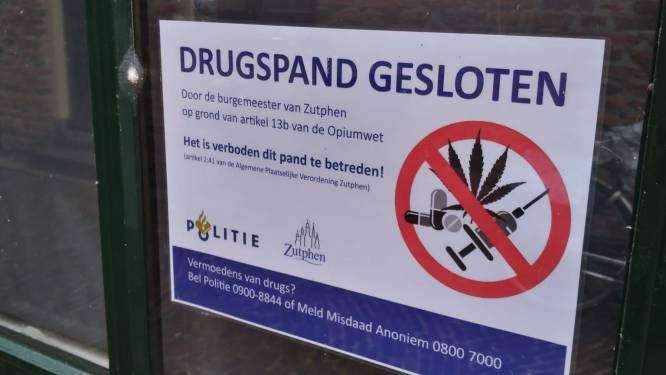 Burgemeester sluit wederom drugspand in Zutphen: 'Wil voorkomen dat onze kinderen afglijden'