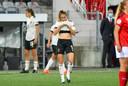 Tessa Wullaert tegen Zwitserland.