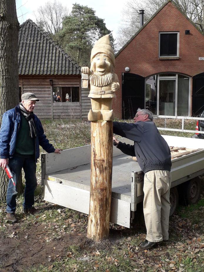 De kabouter van Bosschuur de Meren.