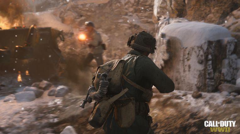 Beeld uit de nieuwe Call of Duty-game Beeld rv