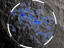 NASA vindt water op de maan