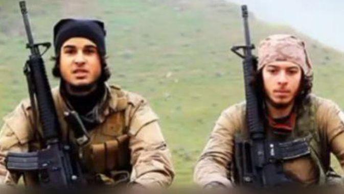 Lotfi Aoumeur (à gauche) est un ancien militaire: il a menacé la Belgique il y a quelques semaines.