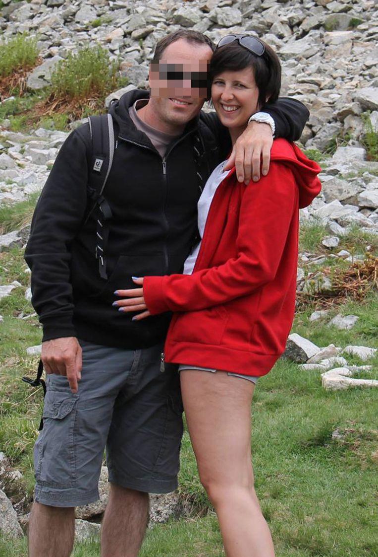 Kris Van Malderghem en slachtoffer Stéphanie Reybrouck.