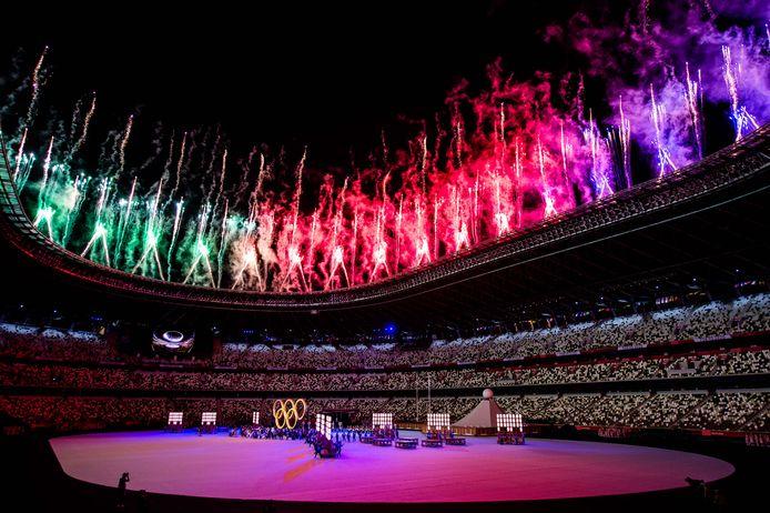 De opening van de Olympische Spelen