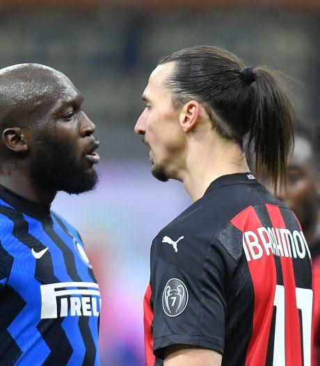 Vete duurt voort: Ibrahimovic laat Lukaku zien wie de echte 'Koning van Milaan' is