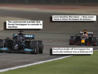 """Buitenlandse media zagen """"episch"""" duel: """"Hamilton reed misschien wel zijn beste verdedigende race ooit"""""""
