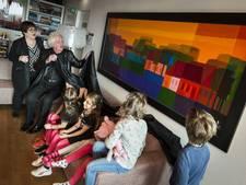 Ton Schulten doet het licht aan in Kinderstad VUmc Amsterdam