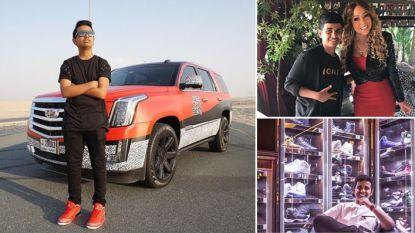 Sneakercollectie van 875.000 euro, privézoo met 500 dieren en ontmoetingen met grootste sterren: miljardairszoon (16) geeft inkijk in luxeleven