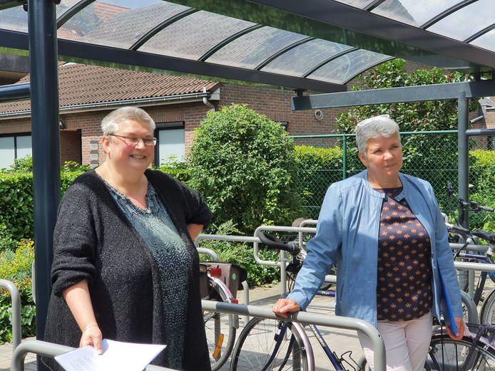 Hilde en Ann Francken hebben het spel 'De Slag om Achterbroek' uitgewerkt.