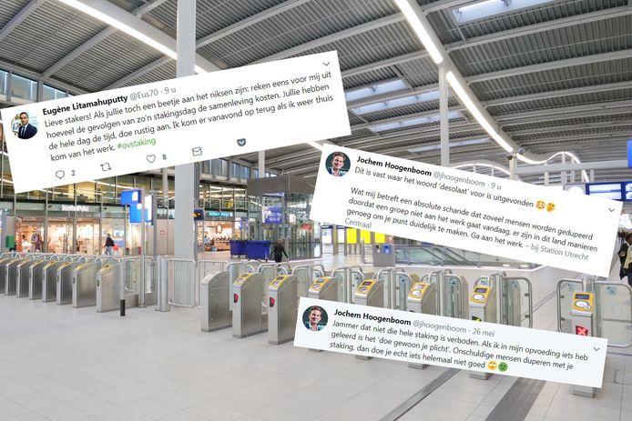 Tweets van D66-woordvoerders Jochem Hoogenboom en Eugene Litahamaputty.