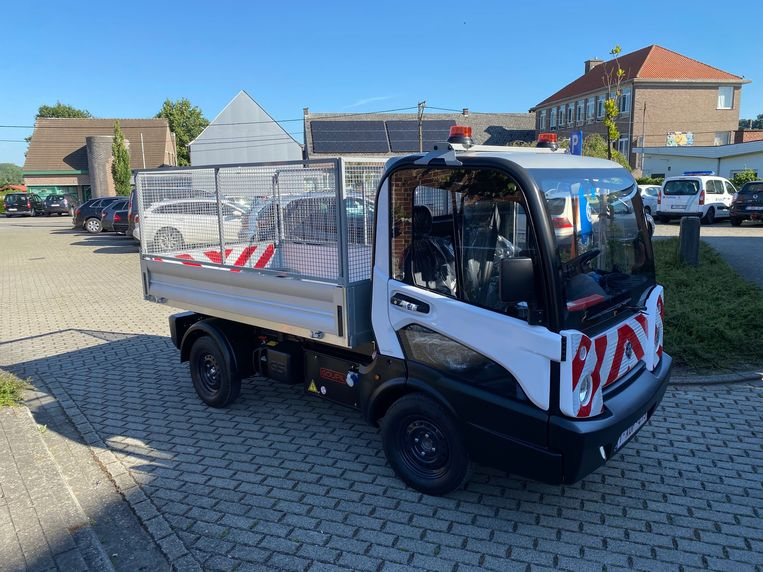 Dit nieuwe elektrische voertuig zal voortaan te zien zijn in de Zwalmse straten.