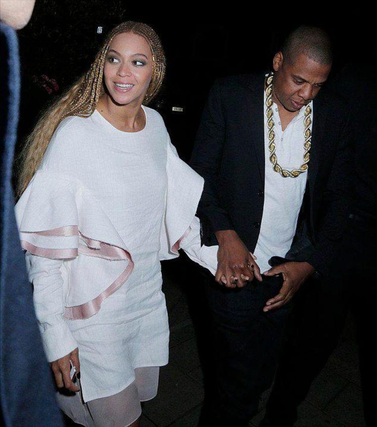 Beyoncé in een jurk van Sies Marjans eerste collectie, 2016 Beeld instagram seis marjan