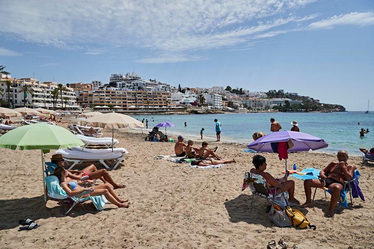 Het Figueretas-strand op Ibiza. Beeld Getty Images