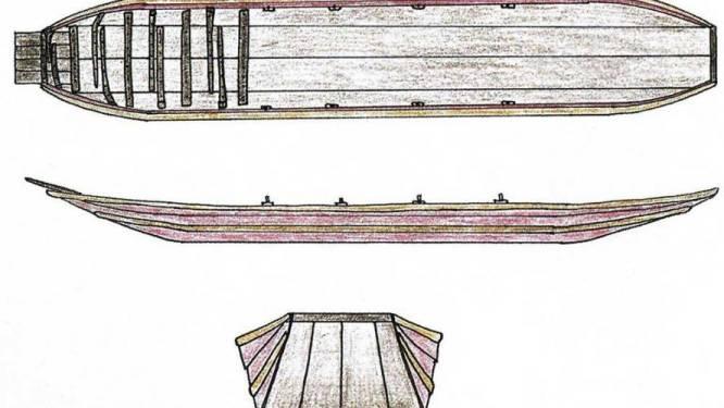 Duizend jaar oude boot gevonden bij ontgrindingen in Nederlands Limburg