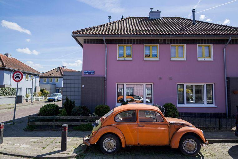 De Pinksterbloemstraat in Floradorp, ook wel de Rimboe genoemd. Beeld Rink Hof